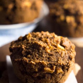 Apple Gingerbread Bran Muffins.