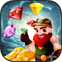Ultimate Gold Rush: Match 3 icon