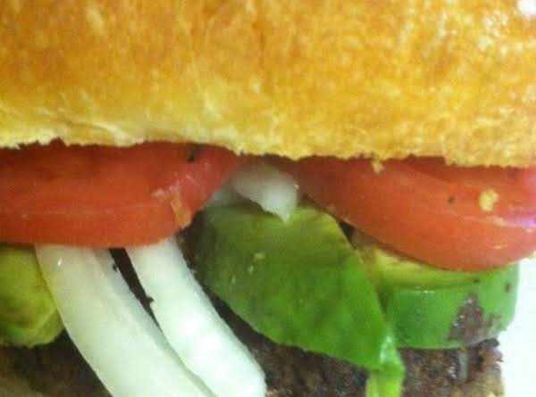 Smoked Cheddar & Chili Bison Burger Recipe