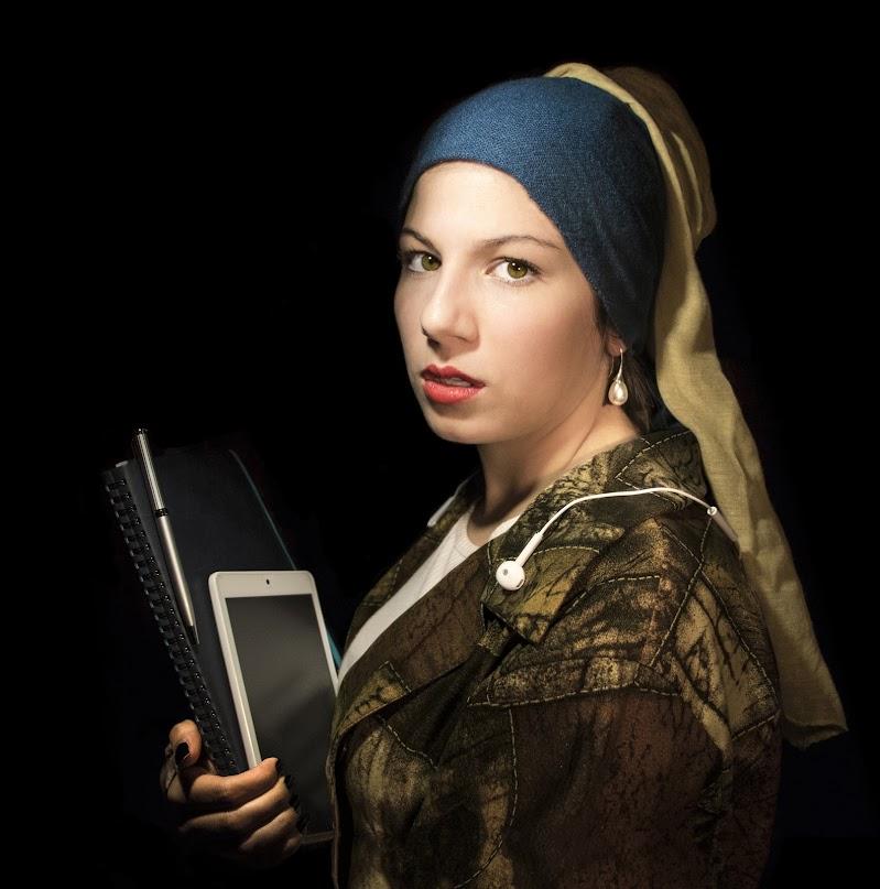 Ragazza col turbante 2.0 - Jan Vermeer di Giovanni Coste