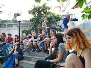 assemblea Colapesce al Giardino Scidà