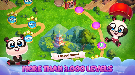 Panda Pop! Bubble Shooter Saga & Puzzle Adventure screenshot 2