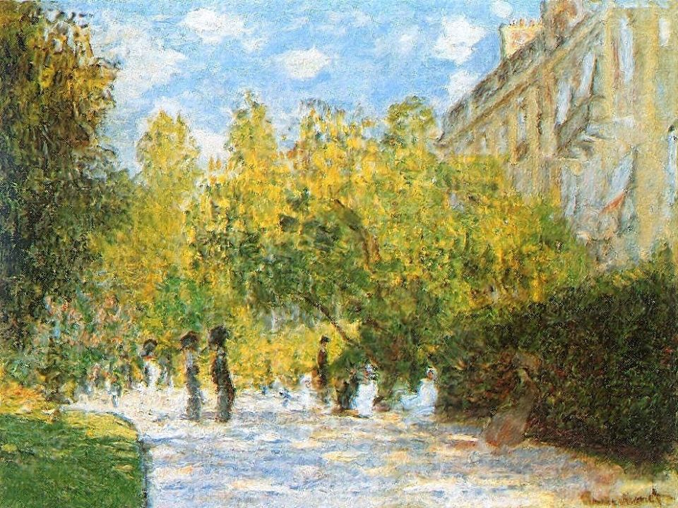Cl. Monet, The Parc Monceau, 1876 [https://lh3.googleusercontent.com]