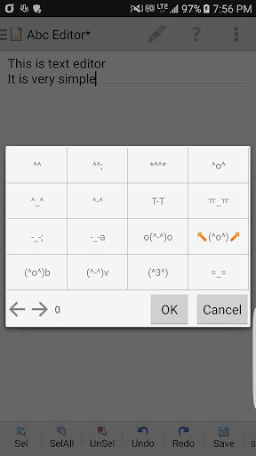 Abc Editor (Text Editor) 1.4.5 screenshots 2
