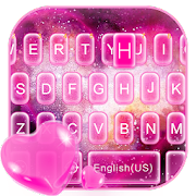 App Pink Heart Nebula Keyboard Theme APK for Windows Phone