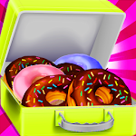 Lunch Box Maker- Donuts Shop Icon