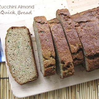 Zucchini Almond Quick Bread (for Atkins Diet Phase 2)