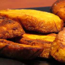 Plantain deliciousness by Amy McCarty - Food & Drink Plated Food ( african food, plantains )