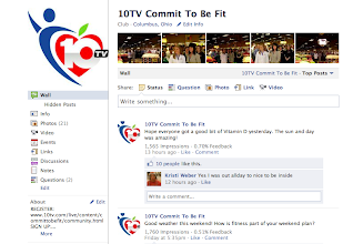 Photo: Manage WBNS 10TV Commit To Be Fit Facebook Page