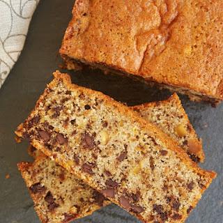 Chocolate Chip Pistachio Pound Cake