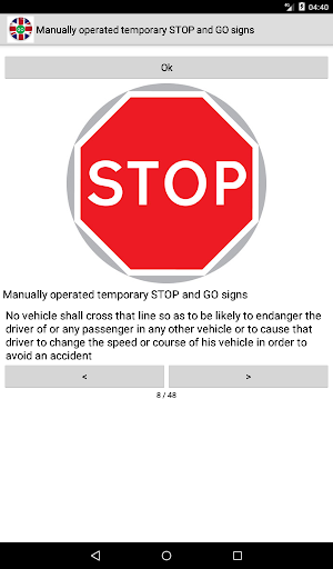 Road signs (Traffic Signs) United Kingdom  screenshots 11
