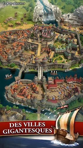 Code Triche Lords & Knights - MMO de stratu00e9gie mu00e9diu00e9val APK MOD screenshots 5