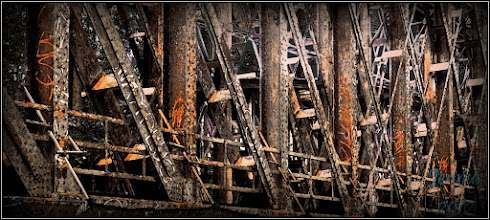 Photo: old steel bridge
