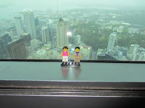 Photo: Vistas de Auckland desde la Sky Tower