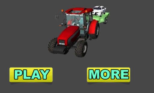 Traktör Sürme: Araba Taşıma 3D