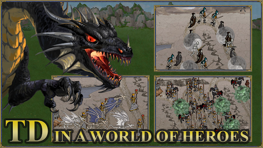 TDMM Heroes 3 TD:Medieval ages Tower Defence games  screenshots 1