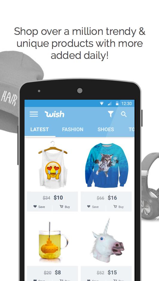 Wish - Shopping Made Fun screenshot #2