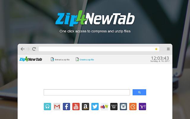 Zip4NewTab