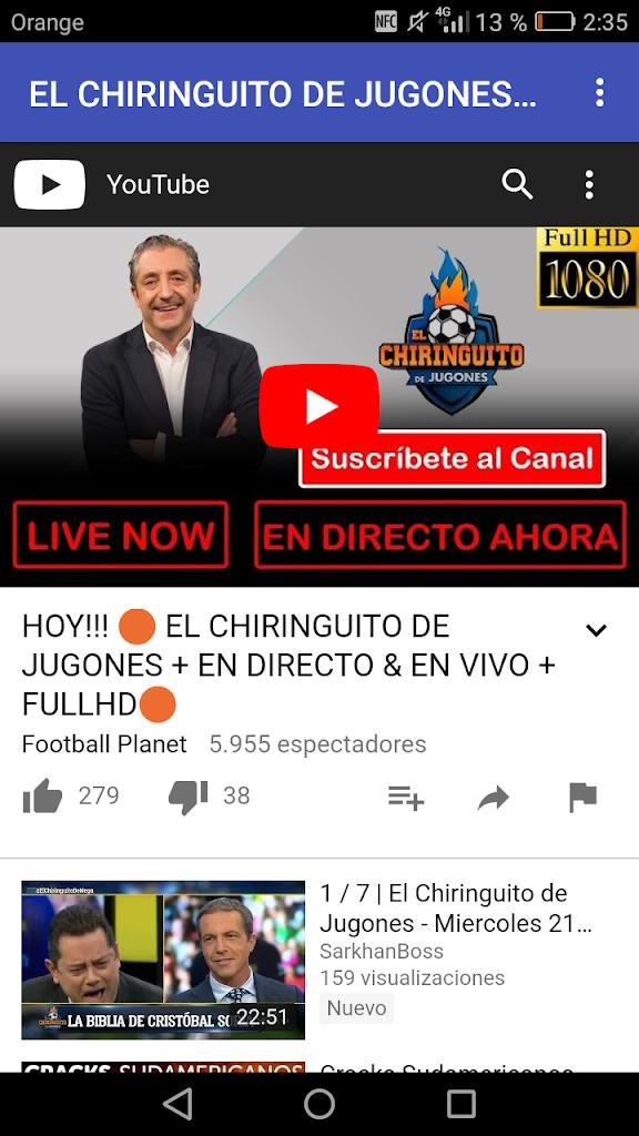 El Chiringuito De Jugones En Vivo 1 0 Apk Download Com Ai Bcnflights Muy Apk Free