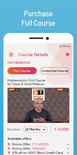 Bright Tutee :Learning & Study App for Class 9 &10 screenshot 5