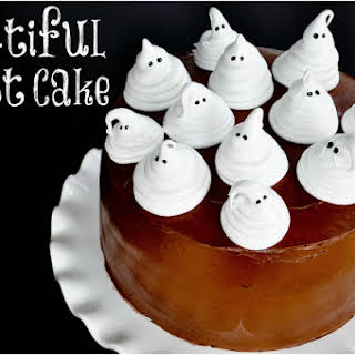 Boo-tiful Ghost Cake.