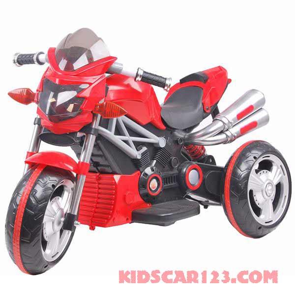 xe máy điện trẻ em 3212 màu đỏ