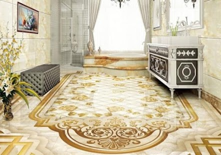 Art decorate 3D floor - náhled