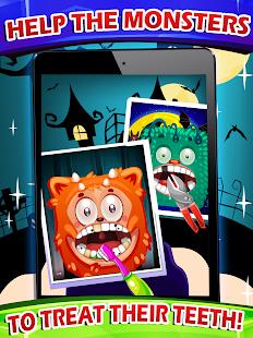 Halloween Game Dentist Braces Ekran Görüntüsü