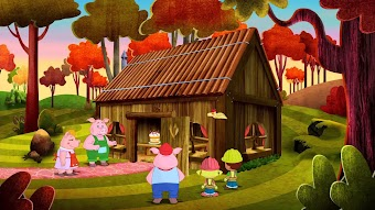 Party bei den drei Schweinchen