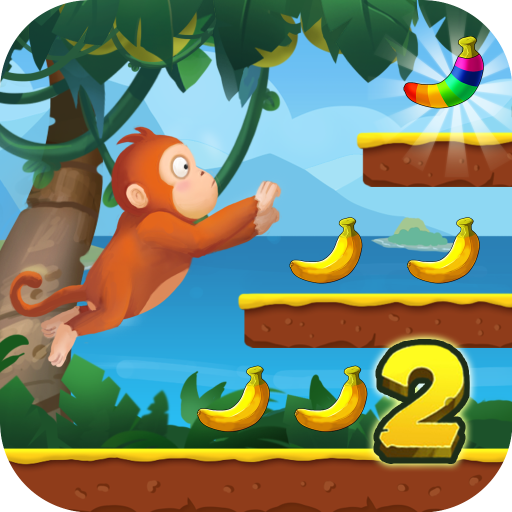 Jungle Monkey Run - Banana Island