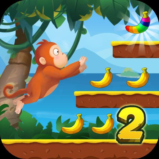 Jungle Monkey Run - Banana Island Icon