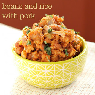 Slow Cooker Mexican Beans and Rice with Pork