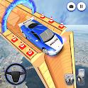 Police Mega Ramp Car Stunt Games 2021: Prado Stunt icon