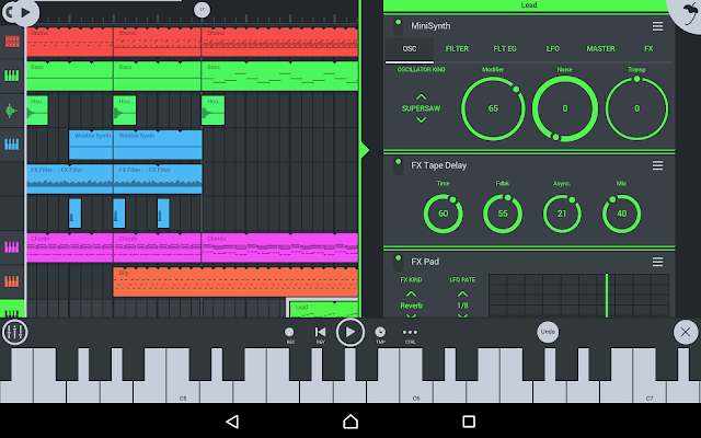 FL Studio Mobile Screenshot Image