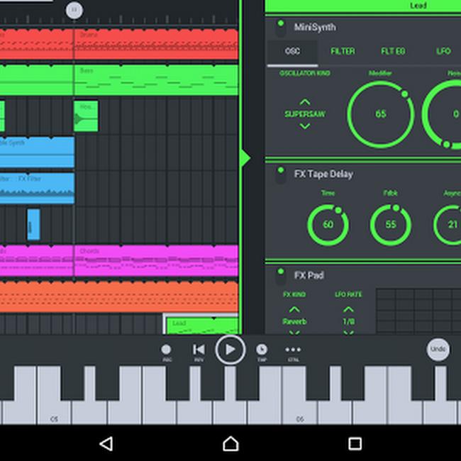 Crea Musica Desde Tu Android!