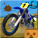 MotoCross VR (Free from ads) icon