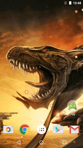 恐竜 ライブ壁紙