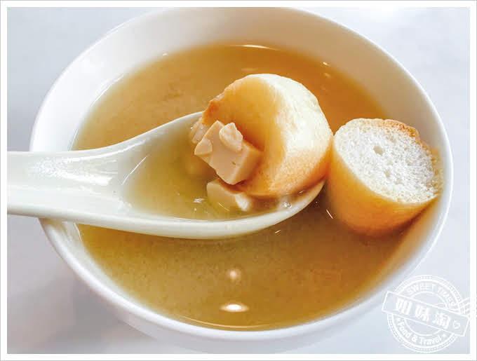 良麵館味噌湯