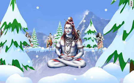 4d Shiva Live Wallpaper 30 Apk Free Personalization Application