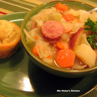 Cabbage and Sausage Stew.