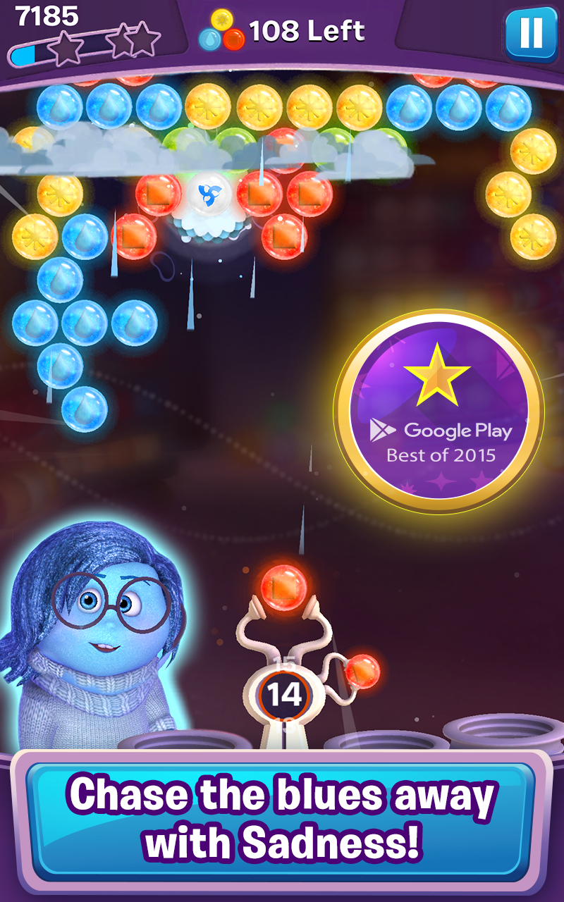 Inside Out Thought Bubbles screenshot #2