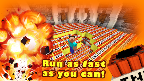 Download TNT Run Survival Rennen MiniSpiel Minecraft MCPE APK - Minecraft tnt spielen