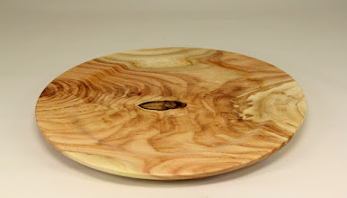 "Photo: Tim Aley 10"" x 1/2"" plate [honey locust]"