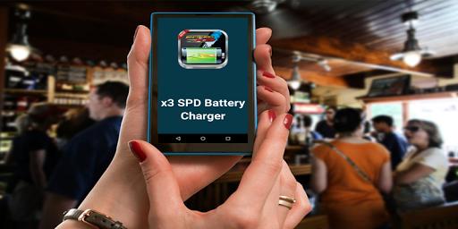 X3 SPDバッテリーチャージャー