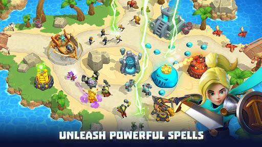Wild Sky Tower Defense: Epic TD Legends in Kingdom apktram screenshots 19