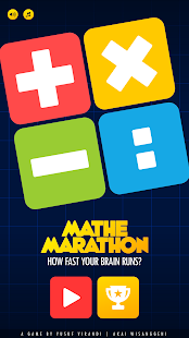 MatheMarathon : How Fast Your Brain Runs? - náhled