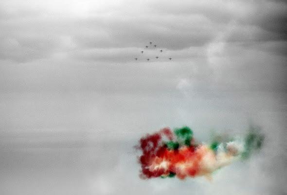 Le frecce tricolore di Luciano Fontebasso