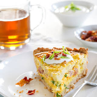 Potato Quiche.