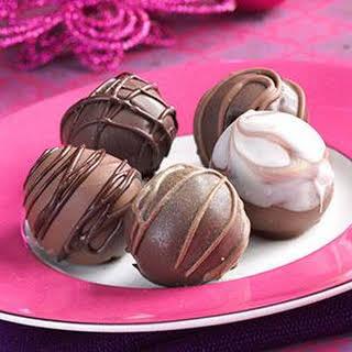 Chocolate Cherry Truffles.