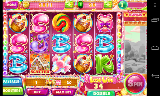 Slot - Candy Story